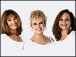 The Lennon Sisters — Kathy, Janet, and Mimi — will perform at 2 p.m. April 12 at the Ritz Theatre in Tiffin.