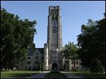 The University of Toledo's University Tower