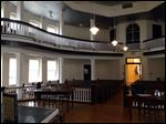 The old courtroom that served as inspiration for the novel and movie