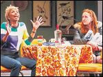 Sharon Washington and Megan Byrne star in the play 'Dot.'