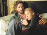 Michiel Huisman, left, and Blake Lively in a scene from