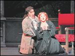 Kathryn Lewek and Hyung Yun perform a scene from the opera.