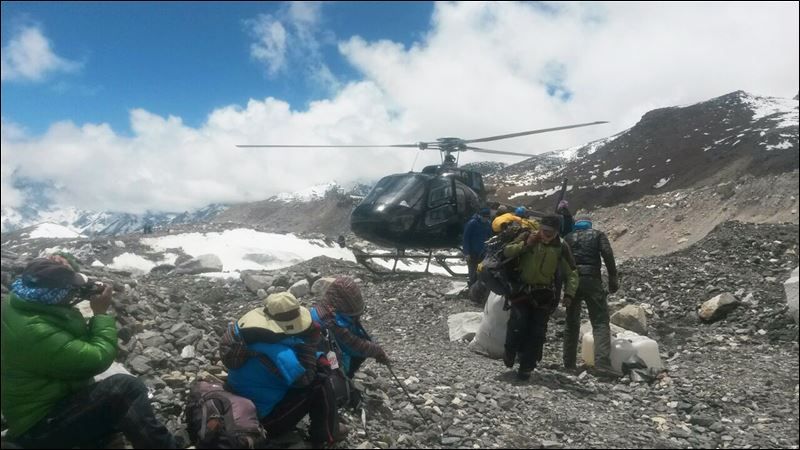 Nepal Pictures Today Base Camp Nepal Today
