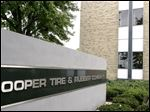 The headquarters of the Cooper Tire & Rubber Company is seen in Findlay, Ohio on September 17, 2004.