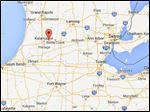 Galesburg, Mich., is about 140 northwest of Toledo.