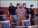 Douglas Coley at his sentencing in June, 1998. Coley's execution is scheduled for March, 2018.