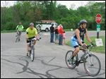 The 2015 Maumee Valley Tri-Adventure Race  takes place in three stages: Biking, canoeing, and hiking.