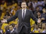 Cavaliers coach David Blatt tried to call a timeout his team didn't have Sunday. Then he initially designed a play where LeBron James took the ball out of bounds with 1.5 seconds left against Chicago.