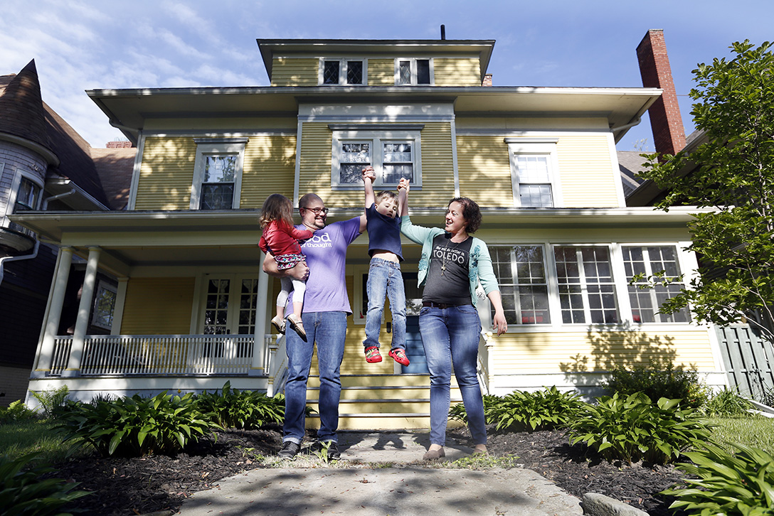 family takes big leap for tiny dream home