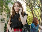 Anna Kendrick as Beca, in a scene from the film,