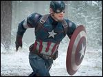 Chris Evans as Captain America in 'Avengers: Age Of Ultron.'
