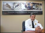Toledo Fire Chief Luis Santiago.