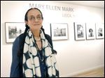 Mary Ellen Mark attends the Leica Los Angeles Grand Opening in Los Angeles.
