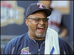 Mud Hens hitting coach Leon 'Bull' Durham has been with the Toledo franchise since the 2001 season. The Cincinnati native played 10 seasons in the major leagues.