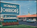 Howard Johnson's America. Those orange-roofed icons of a bygone era are almost gone.