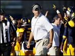 Toledo head coach Matt Campbell is facing some scrutiny for leading a prayer with his players.