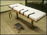 The death chamber at the Southern Ohio Correctional Facility in Lucasville, Ohio, has not been used since last year because of a federal court moratorium on Ohio executions. Gov. John Kasich imposed a moratorium on executions through 2015.
