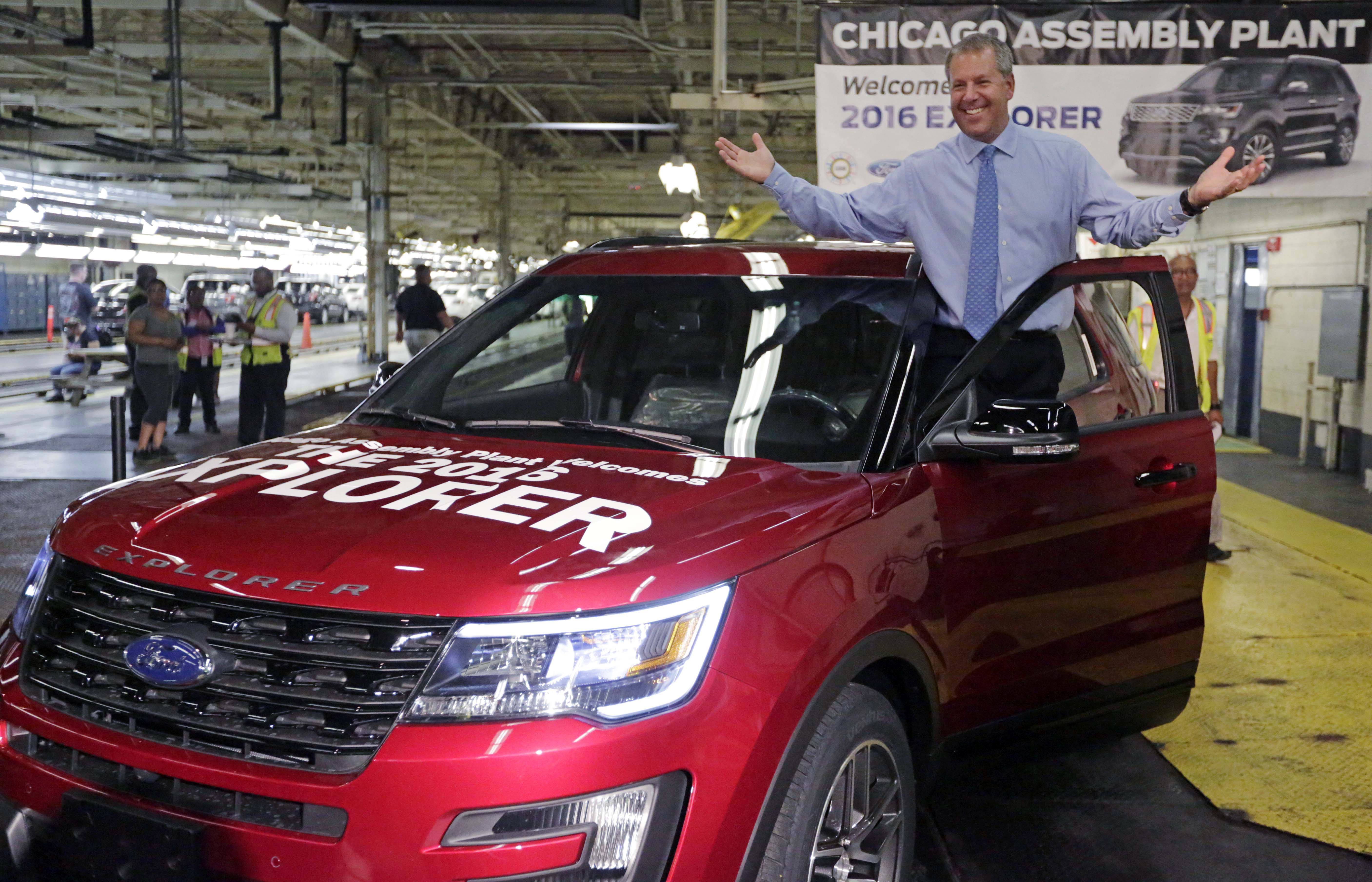 Ford to stop making lincoln model at chicago factory the for Ford motor company employee login