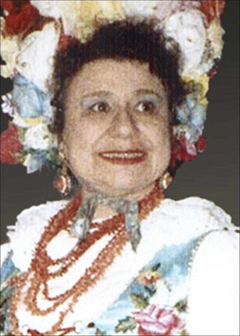 Olga Brodecki 1918 2015 Musician Performed At Night