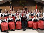 Toledo's Swiss Singers beat out 13 other contestants from the Midwest and Canada to claim the top prize at Saengerfest, the international contest for Swiss-style singing and yodeling in New Glarus, Wis. The women's choir claimed a silver prize.