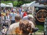 The 50th Crosby Festival of the Arts, at the Toledo Botanical Garden on Sunday.