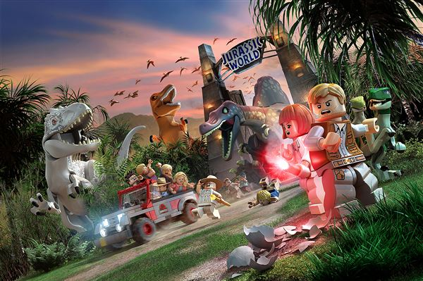 Lego Jurassic World' is mostly entertaining - The Blade