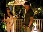 Jada Pinkett Smith, left, as Rome, and Channing Tatum as Mike star in Warner Bros. Pictures', 'Magic Mike XXL.'