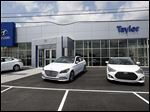Taylor Hyundai will open its third location on Monday.