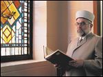 'The more we talk to each other, the more we understand one another; the more we understand, the more we con-tribute to the civilization of our society,' says Imam Talal Eid of  the Islamic Center of Greater Toledo in Perrysburg.