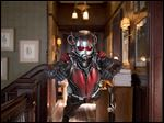 Paul Rudd as Ant-Man in a scene from Marvel's 'Ant-Man.'
