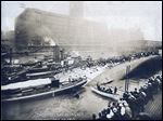 The worst maritime casualty in Great Lakes history is the Eastland, which capsized in Chicago a century ago killing 844 people, about a third of those aboard the packed vessel.