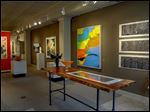 The focus is on summer with the variety of works included in the exhibit 'Summer Group Show' at the Sylvania gallery.