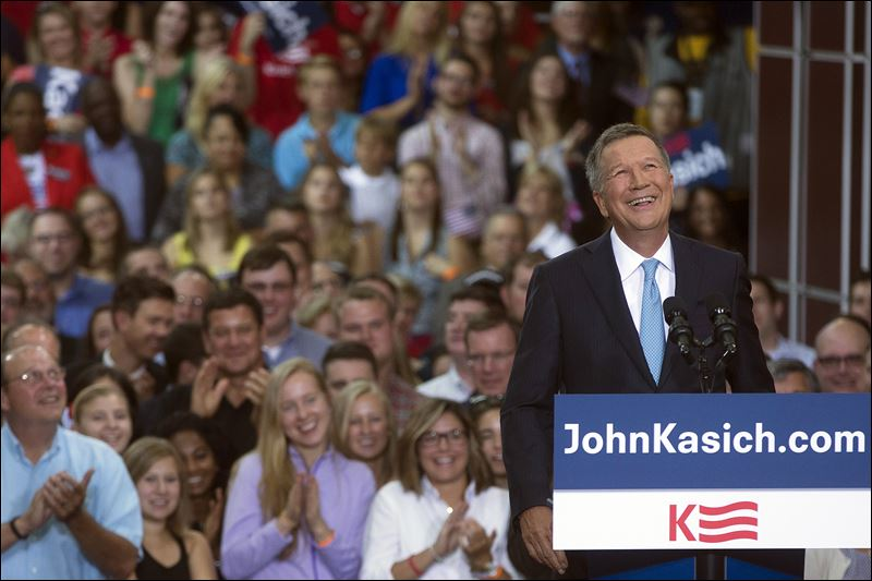 John Kasich adds his name to crowded GOP field - Toledo Blade