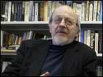 American author E.L. Doctorow smiles during an interview in his office at New York University in New York in April, 2004.