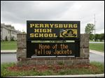 CTY perrysburg16p     The Blade/Jetta Fraser     Four males, including two juveniles, were arrested May 16, 2006 and charged in connection with vandalism at Perrysburg High School in Perrysburg, Ohio. The damage was cleaned up by about 8:30 am, according to the principal.
