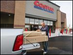 The new Costco in Perrysburg was by far the largest addition of retail space in the area this year. The 154,000-square-foot store opened in June, attracting customers from near and far, including Ahmed Haidar, of Dearborn, Mich.