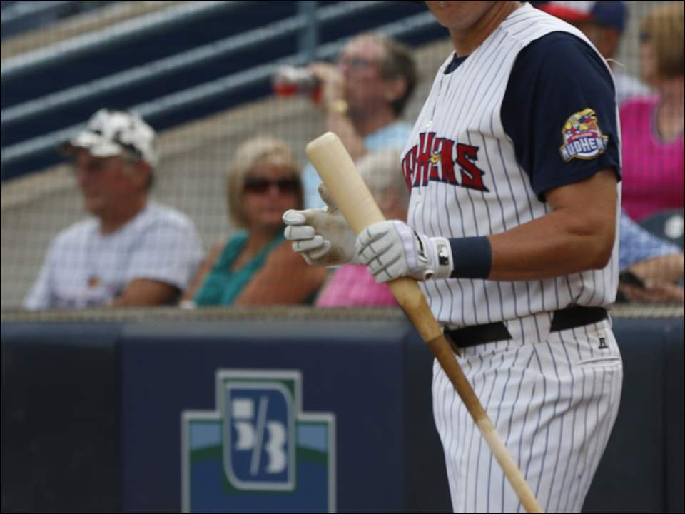 Toledo Mud Hens third baseman Mike Hessman hopes to tie a home run record.