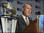 Big Ten commissioner Jim Delany said the conference has created a plan to place a medical spotter in the replay booth during all of the Big Ten's home football games.
