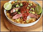 Flank Steak Frito Pie.