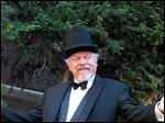 Doug Hendel, a retired professor of theater at the University of Mount Union in Alliance, Ohio, is spending his summer on stage with the Hip to Hip Theatre Company in New York. One of his roles is Shylock in 'The Merchant of Venice.'
