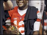 Cardale Jones led Ohio State in the Big Ten championship game, then two playoff victories to win the national title.