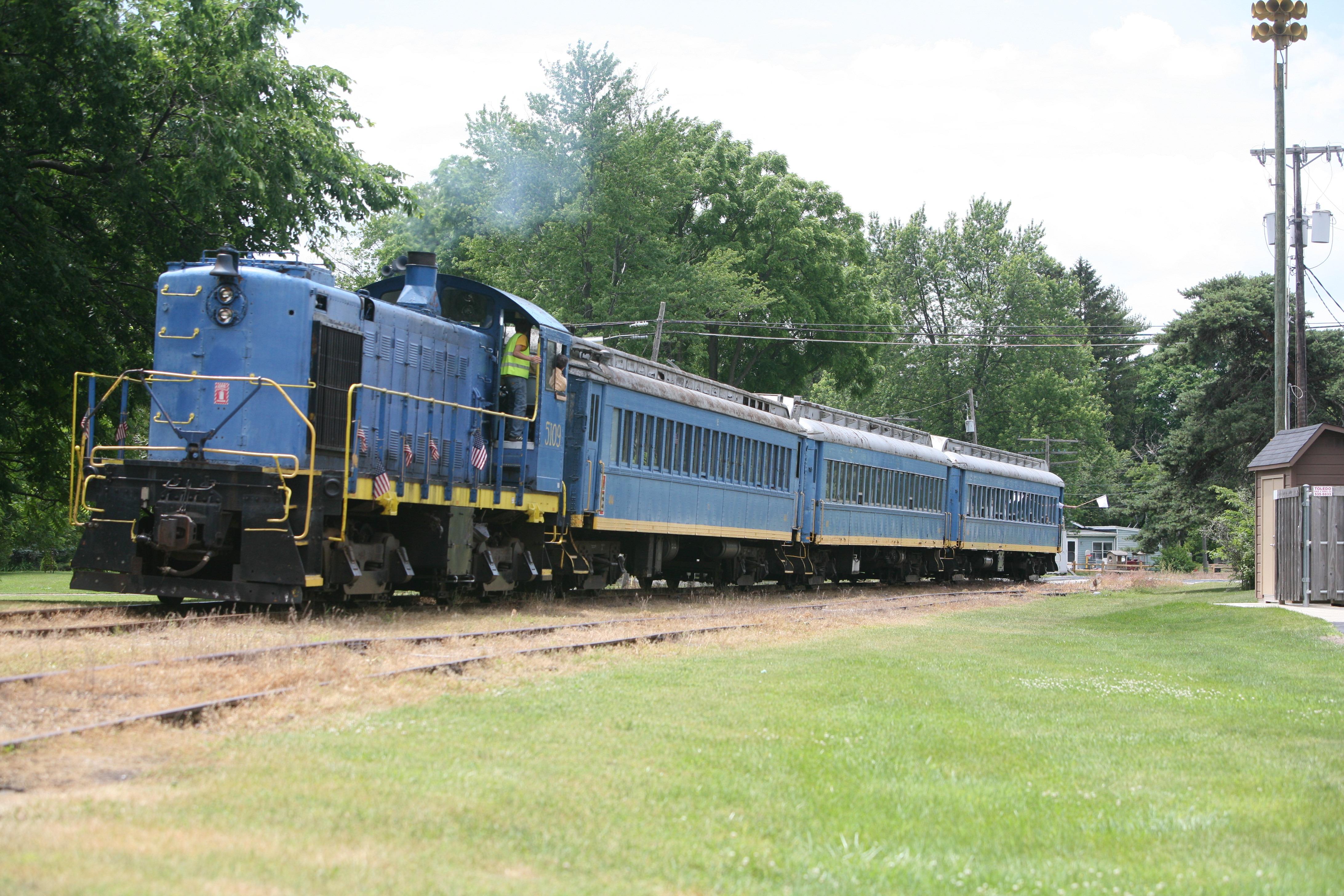 Discontinuance of freight rail wont affect Bluebird train The Blade