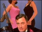 Actor Robert Vaughn in a promotional photo for 'Man from U.N.C.L.E.'