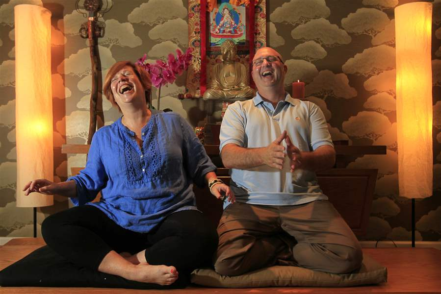 Together, Zen Do'on joins her husband as an ordained Buddhist priest ...