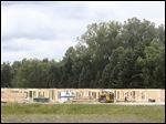 A new apartment complex under construction called Carlisle Commons by Redwood Sylvania Township.