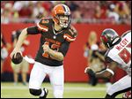 Josh McCown will start at quarterback today for the Browns, who open the year against the New York Jets in East Rutherford, N.J. He'll also be the 23rd quarterback to start a game for Cleveland since 1999.