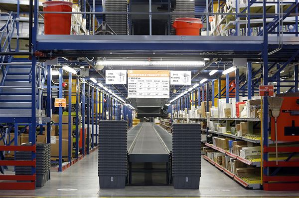 Huge home depot warehouse open the blade for Home depot sister companies