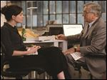 Anne Hathaway and Robert DeNiro in a scene from 'The Intern.'