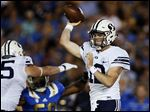 True freshman Tanner Mangum has led BYU to comeback victories against Nebraska and Boise State, but the Cougars fell short during a one-point loss last week at UCLA.