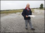Ex-mayor Carty Finkbeiner says the Southwyck Shopping Center side is perfect for a business and industrial park.